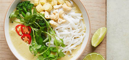 COCONUT RICE NOODLE SOUP