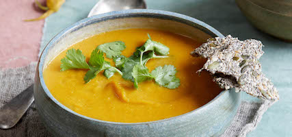 LENTIL & SWEET POTATO SOUP