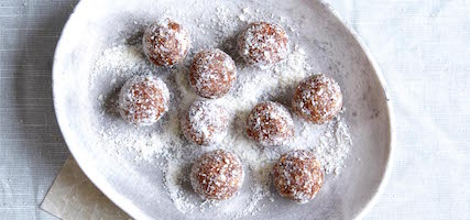 RAW CACAO & ORANGE BLISS BALLS